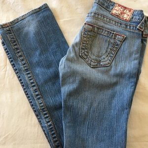 True Religion Johnny Big T light denim